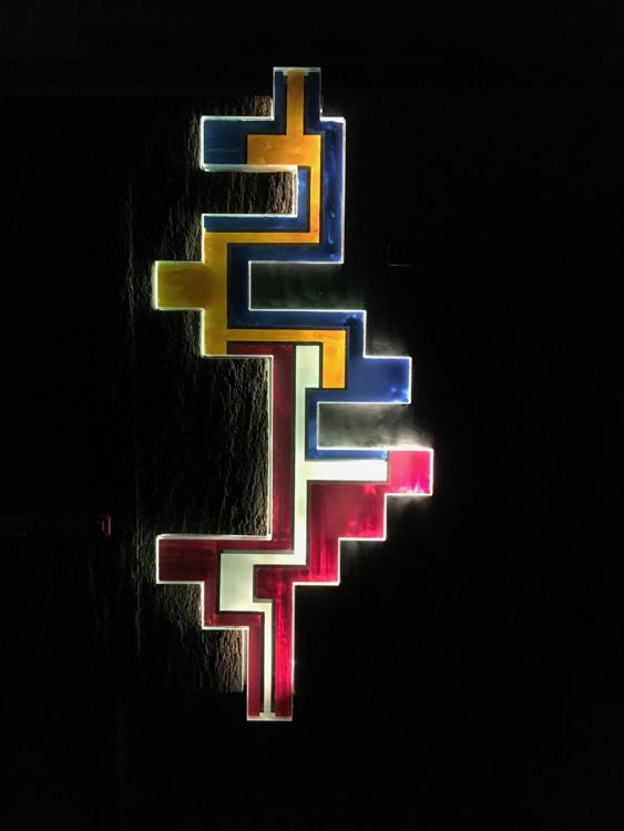 Licht-Wandrelief