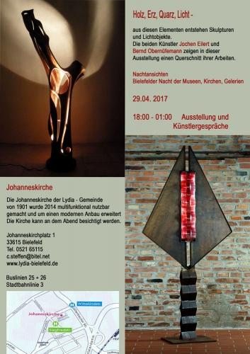 Nachtansichten / Bielefelder Nacht der Museen, Kirchen, Galerien